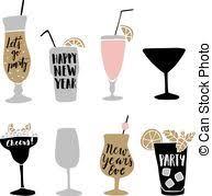 vectors illustration of bar happy hour promotion sign design