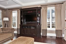 Two Tone Drapes Inspirations Add Drapery Panels For Your Home Accessories Ideas