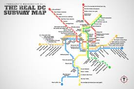 Boston Metro Map by Thrillist Just Created The Most Accurate D C Metro Map Ever