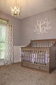 lavender and gray nursery yellow accents lavender and nursery