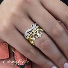 big fashion rings images How to stack gabriel co rings blog engagement rings jpg