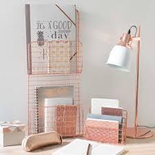 porte courrier en métal cuivré rose gold pinterest