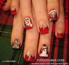 robin moses nail art december 2012
