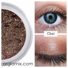 chai mineral eyeshadow orglamix mineral makeup