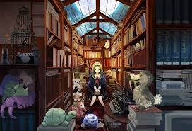 library by kanipanda on deviantart