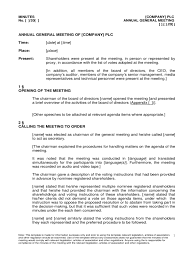 Meeting Agenda Templates Word by Annual General Meeting Agenda Template 8 Free Templates In Pdf