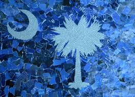 South Carolina Flags Three Pixie Lane The Sc Palmetto Flag Crafting With Kids