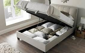 Ottoman Storage Beds Furniture Kaydian Accent Ottoman Storage Bed Frame Kontenta In