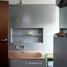 Recessed Shelves In Bathroom Ambience Images Recessed Shelf Above Freestanding Recessed