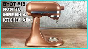 diy painting a kitchen aid byot 18 youtube