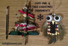 prep and ribbon tree ornament