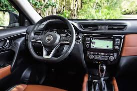 nissan van interior 2017 nissan rogue first look review motor trend