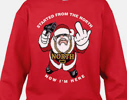 funny santa sweater funny ugly christmas sweater tacky christmas