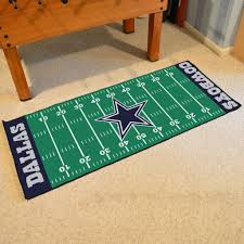 Dallas Cowboys Area Rug Dallas Cowboys Football Field Runner Area Rug Mat By Fanmats 30