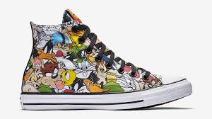 looney tunes converse sneakers sole collector