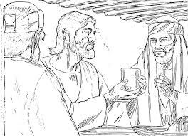 last supper coloring pages coloring page