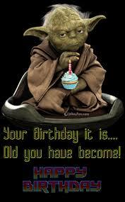 Star Wars Birthday Memes - joke4fun memes yoda birthday wishes