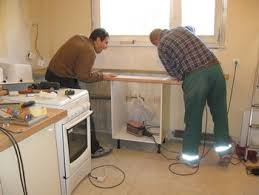 meuble cuisine a poser sur plan de travail pose plan de travail affordable dco pose plan de travail