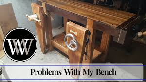 hand tool woodworking bench what i did wrong and learned wood by