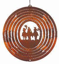 roundup spinning garden ornament