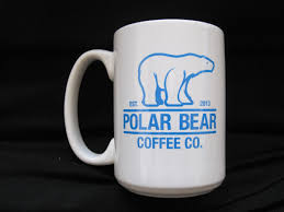 coffee mug 16 oz polar bear coffee mug