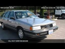 audi 5000 for sale 1988 audi 5000 cs quattro for sale in pacific wa 98047