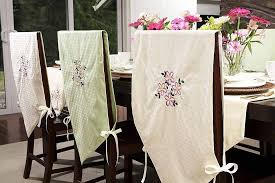 Dining Chair Short Slipcovers Slipcovers For Dining Room Chairs That Embellish Your Usual Dining