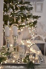 magical christmas table decor the fairy lights greenery and
