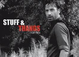 Stuff And Things Meme - walking dead meme rick grimes stuff and things thangs twd