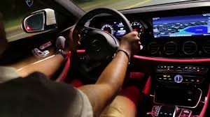 light pink mercedes 2017 mercedes benz e300 interior lighting youtube