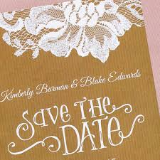 Rustic Save The Dates Rustic Lace Save The Date Card Or Magnet Little Flamingo