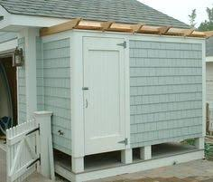 Outdoor Shower Cubicle - custom shower enclosure here u0027s a refreshing idea for summer