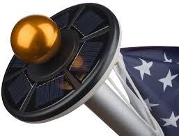 Annin Solar Flagpole Light Amazon Com Sunnytech 2nd Generation Solar Flag Pole 20led Light