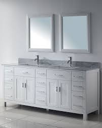 White Bathroom Vanity With Carrera Marble Top by 53 Best White Bathroom Vanities Images On Pinterest White