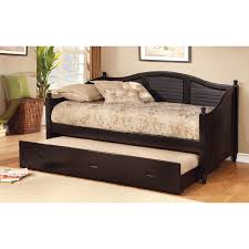 bedroom daybeds with trundles for exciting bedroom furniture dark daybeds with trundles with decorative bedding and