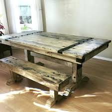 Distressed Pedestal Dining Table Distressed Dining Table And Plus Distressed Pedestal Dining Table
