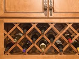 Impressive Wall Cabinet Wine Rack Insert With Lattice Wine Rack Diy