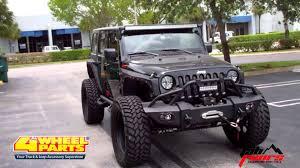 Jeep Jk Wrangler Parts Miami Fl 4 Wheel Parts Youtube