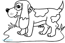 coloring page of a big dog dogs coloring pages best of 2 dog color page 4 dog coloring pages