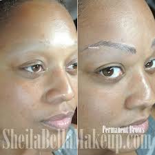 Permanent Makeup Eyebrows Hair Stroke Hairbrows1 Sheila Bella Permanent Makeup And Microblading