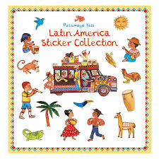 Latin Country Flags Putumayo Kids Sticker Book Latin America Things That Make You