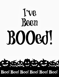 halloween booed printables you u0027ve been booed free printables 4 you with love