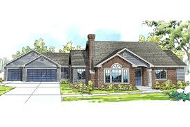 ranch house plan home kingsley detached garage granny 141562 670