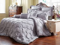 Amazon King Comforter Sets Amazon Com Unique Home 8 Piece Reversible Pinch Pleat Comforter