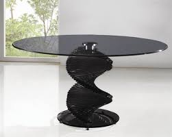 Dining Table Black Glass Black Glass Tables