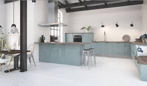 cuisine vert d eau cuisine couleur pastel bleu clair ou vert clair déco mlc