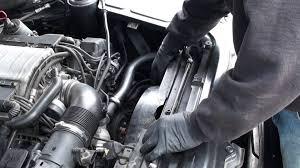 2003 bmw 325i radiator fan bmw 745li radiator fan replacement and testing part 2 youtube