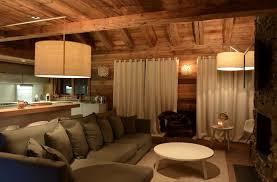 canap chalet modern chalet interior design cosy neve design