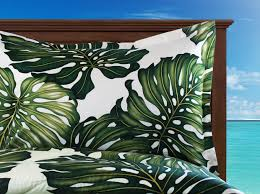 Beach Bedspread Tropical Themed Duvet Covers And Comforters Available In This Off