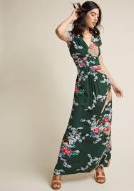 maxi dress feeling serene maxi dress in forest modcloth